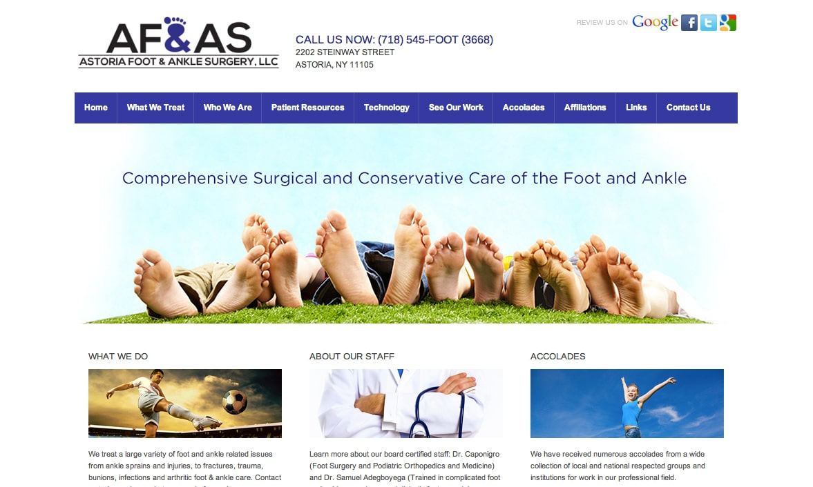 Astoria Foot and Ankle Surgery