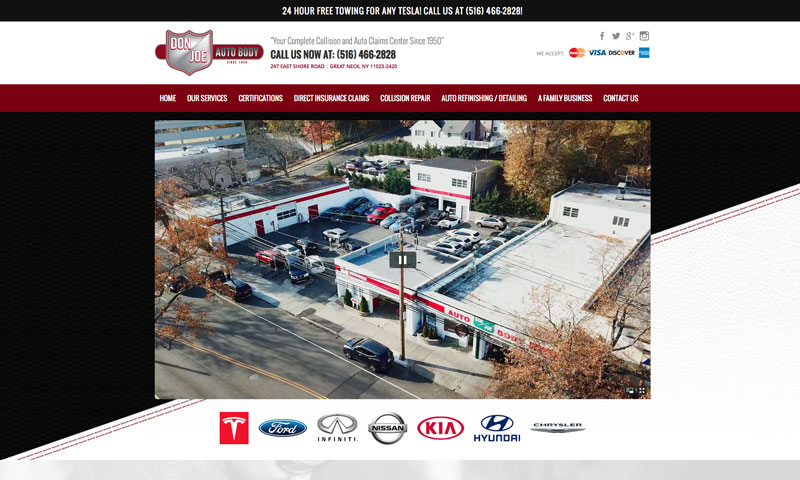 Don Joe Auto Body Works