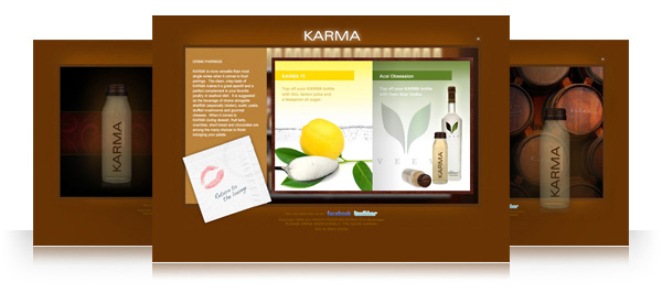Karma Champagne Website
