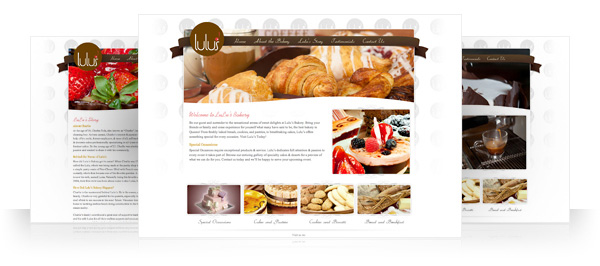 LuLus Bakery Website