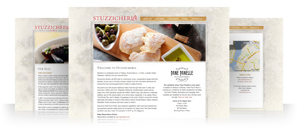 Stuzzicheria and Pane Panelle Website