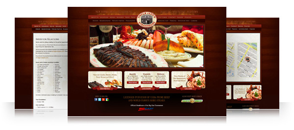 Uncle Jack's Steakhouse Website