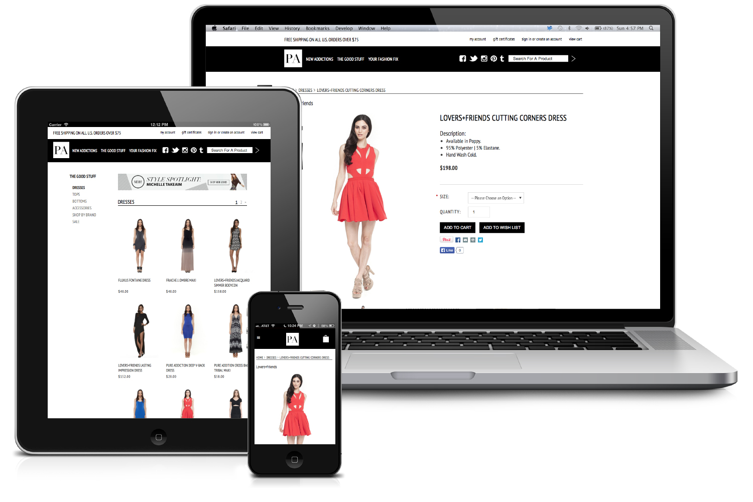 Mobile Ecommerce Design Ecommerce Mobile And Online